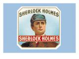 Sherlock Holmes Cigars Wall Decal