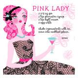 Pink Lady Drink Recipe Seinätarra