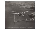 Jomfrurejse, China Clipper, San Francisco, Californien 1935 Wallstickers af Clyde Sunderland