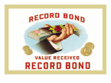 Record Bond Cigars Wall Decal