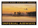 Imperial Airways, Egito Adesivo de parede por Kerne Erickson