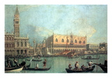 Palazzo Ducale Wallstickers af  Canaletto