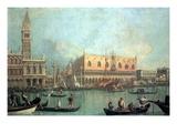 Palazzo Ducale Decalcomania da muro di  Canaletto