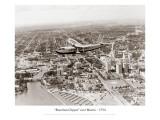 Brazilian Clipper over Miami, 1934 Muursticker