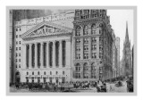 New York Stock Exchange, 1911 Wall Decal by Moses King