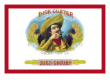 Dick Custer Cigars, Holds You Up Wall Decal