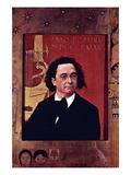 Joseph Pembauer Wandtattoo von Gustav Klimt