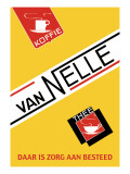 Van Nelle Coffee and Tea Wandtattoo