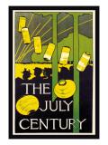 The July Century Väggdekal av Charles Herbert Woodbury