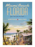 Miami Beach Wall Decal by Kerne Erickson