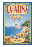 Catalina by Air Wall Decal by Kerne Erickson