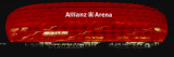 Soccer Stadium Lit Up at Night, Allianz Arena, Munich, Germany Wall Decal