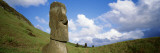 Stone Heads, Easter Islands, Chile Wall Decal by  Panoramic Images