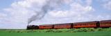 Train Moving on a Railroad Track, Strasburg, Lancaster, Pennsylvania, USA Seinätarra tekijänä Panoramic Images,