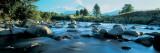 Rocks in the River, Mount Taranaki, Taranaki, North Island, New Zealand Veggoverføringsbilde av Panoramic Images,