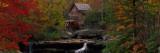 Glade Creek Grist Mill, West Virginia, USA Seinätarra tekijänä Panoramic Images,