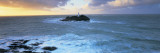 Lighthouse on an Island, Godvery Lighthouse, Hayle, Cornwall, England Wallstickers af Panoramic Images,