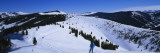 Skiers Skiing, Vail Ski Resort, Vail, Colorado, USA Wallstickers af Panoramic Images,