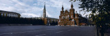 Buildings at the Roadside, Red Square, State Historical Museum, Kremlin, Moscow, Russia Wallstickers af Panoramic Images,