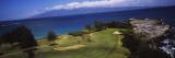 View of the Bay Course at the Seaside, Ritz-Carlton, Kapalua, Maui, Maui County, Hawaii, USA Wallstickers