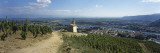Chapel in a Vineyard, La Chapelle Vineyard, Tain-L'Hermitage, Drome, Rhone-Alpes, France Wallstickers af Panoramic Images,