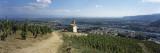 Chapel in a Vineyard, La Chapelle Vineyard, Tain-L'Hermitage, Drome, Rhone-Alpes, France Seinätarra tekijänä Panoramic Images,