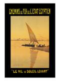 Le Nil au Soleil Levant Wall Decal by D. Rudeman