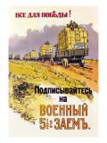 All for the Victory! Decalcomania da muro di Ivan A. Vladimirov
