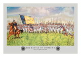 The Battle of Chippewa, War of 1812 Wallstickers af Hugh Charles Mcbarron Jr.