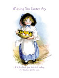 Wishing You Easter Joy Wall Decal by Ellen H. Clapsaddle