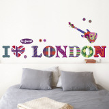 I love London Wandtattoo