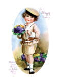 Easter Blossoms Wall Decal by Ellen H. Clapsaddle