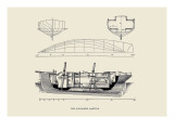 Schooner Gaetina Wall Decal by Charles P. Kunhardt