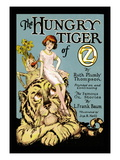 The Hungry Tiger of Oz Wallstickers af John R. Neill
