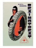 Resinotrust Tires Wall Decal by D. Kravchenko
