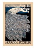 Den moderne plakat  Wallstickers af Will H. Bradley