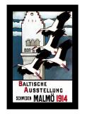 Baltische Ausstellung Wall Decal by E. Norlind
