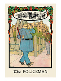The Policeman Wall Decal by H.o. Kennedy