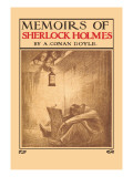 Memoirs of Sherlock Holmes Muursticker van L.n. Britton