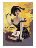 The New Cremo Victoria Cigar Wall Decal by  PAL (Jean de Paleologue)