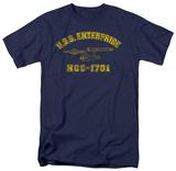 Star Trek-Enterprise Athletic T-Shirt