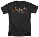 Batman AA-Arkham Asylum Logo T-Shirt
