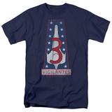 Battle Star Galactica- Vigilantes Unit Crest T-shirts