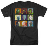 Star Trek-Alien Squares T-shirts