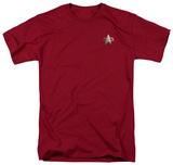 Star Trek-DS9 Command Emblem T-Shirt