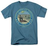 Parks & Rec-Distressed Pawnee Seal T-shirts