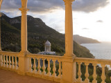 Terrace of Son Marroig Mansion and Gazebo at Sunset Photographic Print by Holger Leue