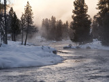 Firehole River Fotografie-Druck von Douglas Steakley