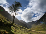 The 'Lost Valley of Glencoe' Fotoprint van Feargus Cooney
