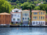 Houses on Bosphorus Photographic Print by Jean-pierre Lescourret